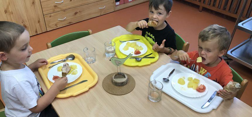 A takhle u Lišáků obědváme
