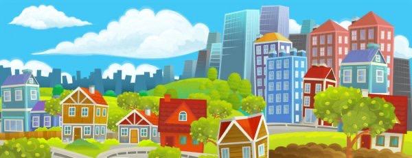 Město nebo vesnice?